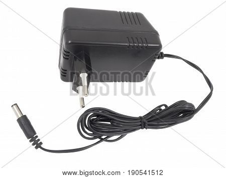 the new AC/DC adapter on white background.