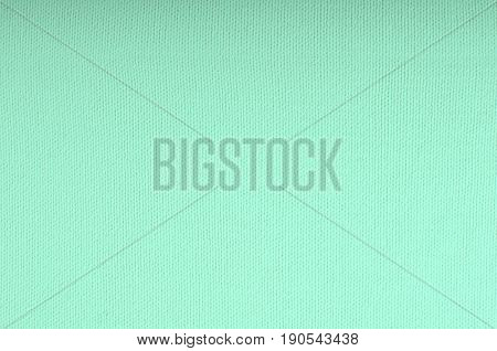 Mint color top view textile knitter texture background