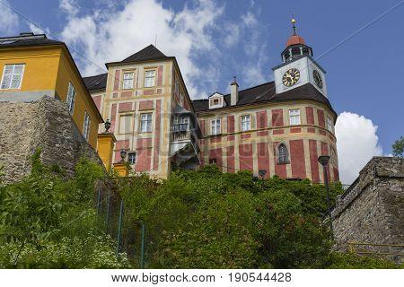 Javornik - Czech Republic - June 07, 2017: Jansky Hill (jansky Vrch) Castle In Javornik Town, Olomou