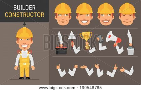 Constructor Character Builder