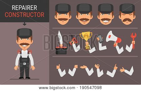 Constructor Character Repairer