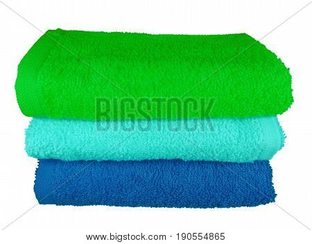 Colorful Spa Towels