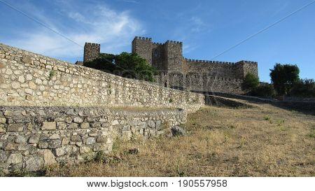 Dia de turismo y fotos en la ciudad de Trujillo (españa)