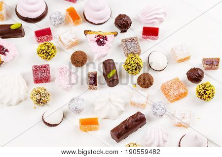 Assortment Of Homemade Confectionery