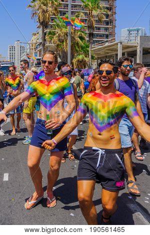 Tel-aviv Pride Parade 2017