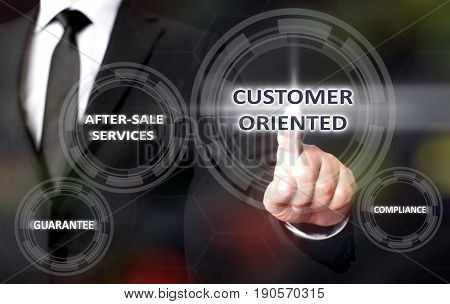 Concept For Customer Oriented Service On Virtual Screen