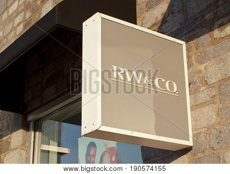 Rw&co Store Sign