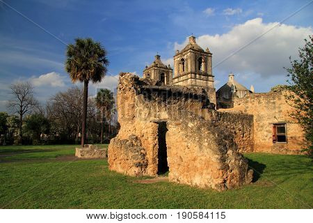 Mission Concepcion, San Antonio Missions National Historical Park, San Antonio, Texas