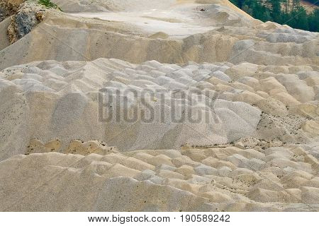 Stone Quarry In The Mountains