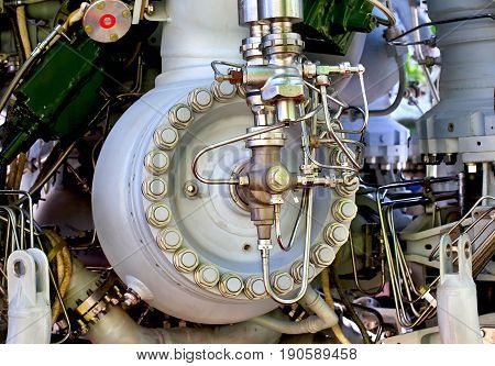 Chambers and tubes of fuel and oxidizer system of liquid rocket engine
