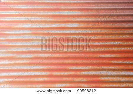 Rusty zinc abstract background and texture for design
