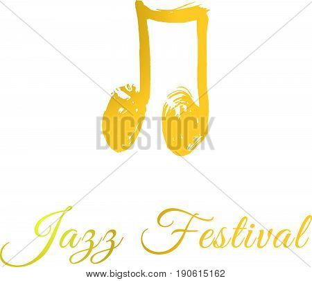 Music Jazz Festival Logo