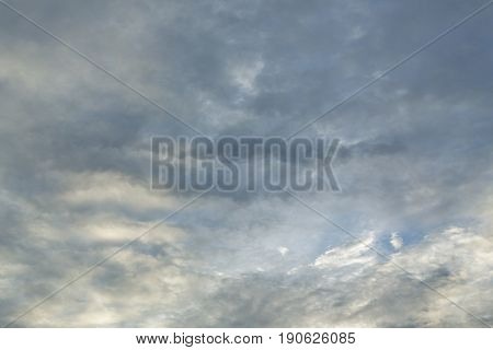 Monsoon Dramatic Moody Sky