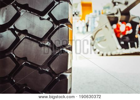 Cargo tires are new at the mining exhibition