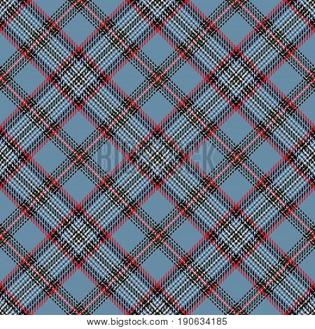 Tartan Seamless Pattern Background. Red Black Blue and White Plaid Tartan Flannel Shirt Patterns. Trendy Tiles Vector Illustration for Wallpapers