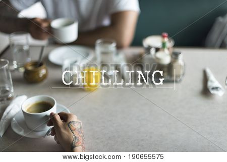 Take Break Chilling Relaxation Concept