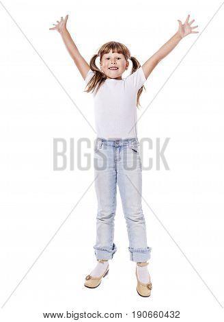 Jumping Laughing Girl