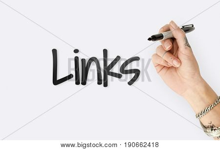 Link Website Internet Connection Graphic Word