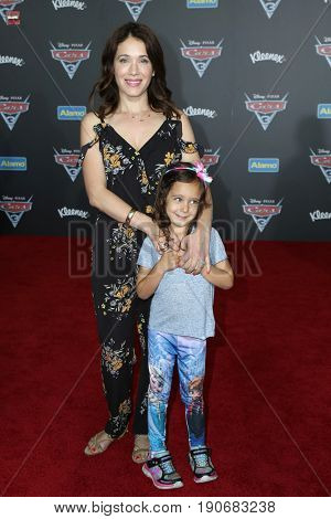 LOS ANGELES - JUN 10:  Marla Sokoloff, Olive Mae Puro at the