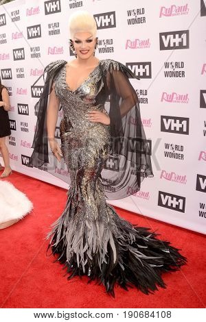 LOS ANGELES - JUN 9:  Alexis Michelle at the RuPauls Drag Race Season 9 Finale Taping at the Alex Theater on June 9, 2017 in Glendale, CA