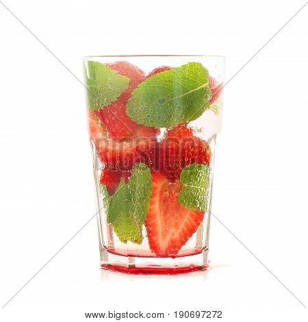 Strawberry Drink Mojito
