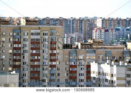 Type of residential multi-storey buildings . .