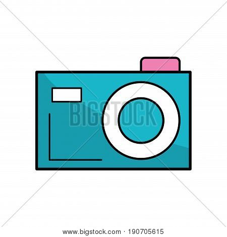digital camera to capture the nice moments vector illustration