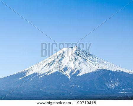 Peak Mountain fuji background,Mountain Fuji in Japan