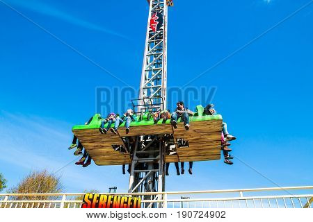 Attraction In Park Attractions Serengeti In Germany In 2017