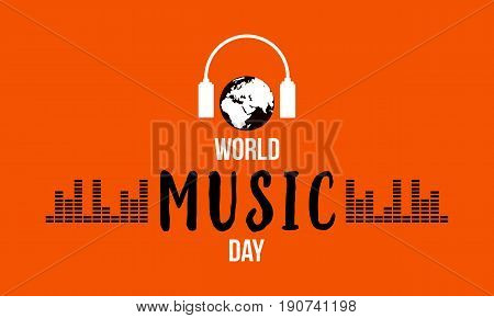 World music day celebration vector flat collection stock