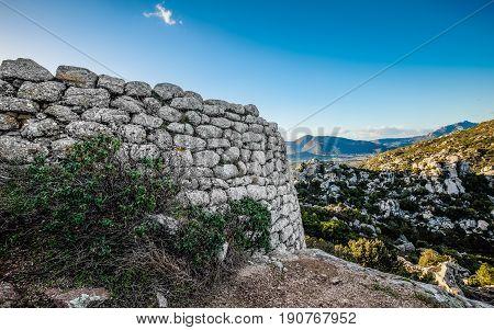 Nuraghe Riu Mulinu- Cabu Abbas Olbia Sardinia