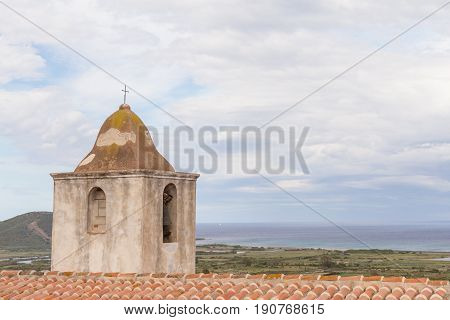 Posada bell tower of Saint Anthony church