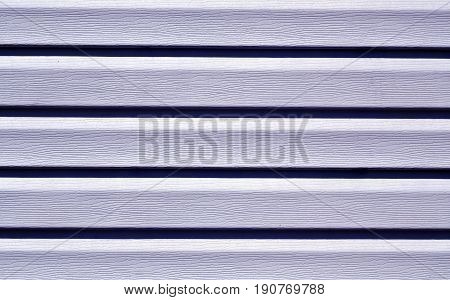 Blue Color Plastic Panel Wall Pattern.