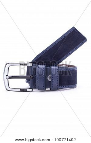 man fashion design belt still life accessory