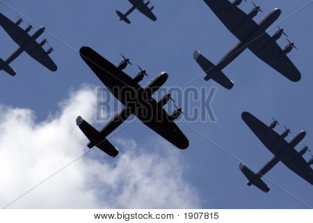 Lancaster Raid