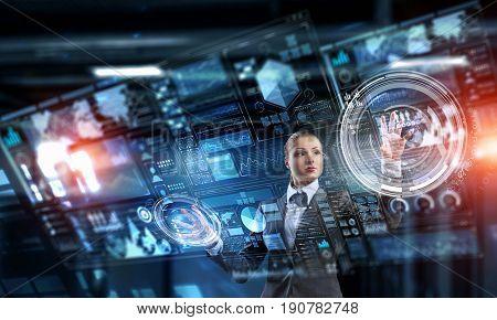 Innovative technologies in use. Mixed media