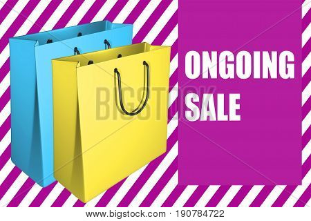 Ongoing Sale - Business Concept