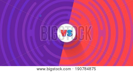 Abstract rounded lines around the circle with text, comics cartoon style