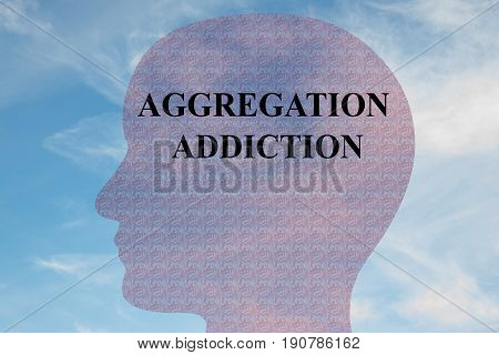 Aggregation Addiction - Mental Concept