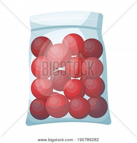 Balls for paintball.Paintball single icon in cartoon  vector symbol stock illustration .