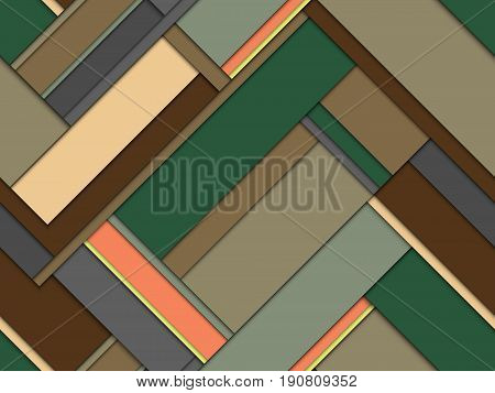 modern stylized seamless pattern of geometric stripes mimic the bookmarks organizer