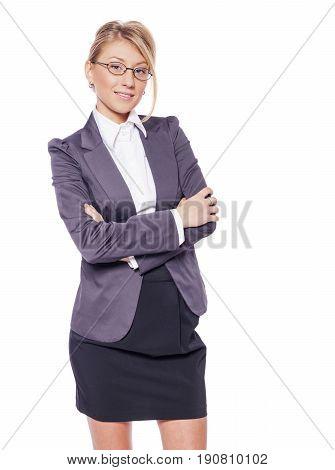 Woman Crossed Hands