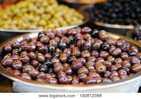 Olives At The Farmer's Market