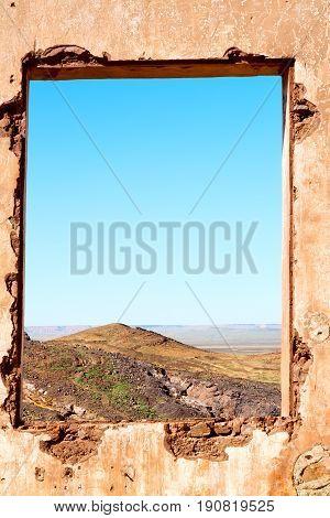 Sahara      Africa In Morocco  Window  Historical Village