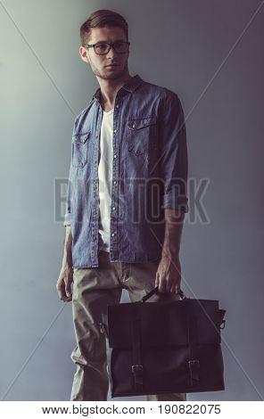 Stylish Young Businessman