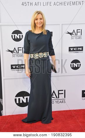 Lisa Kudrow at the AFI Life Achievement Award Gala Tribute To Diane Keaton held at the Dolby Theatre in Hollywood, USA on June 8, 2017.