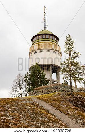 Water tower Naisvuori in Mikkeli, Finland