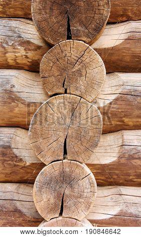 wood log house tree texture brown natural