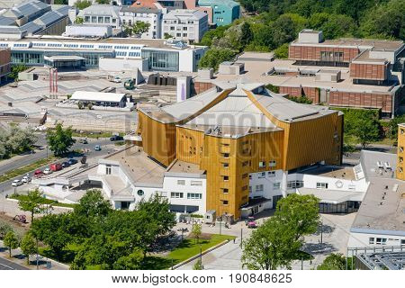 Aerial View On The Berliner Philharmonie