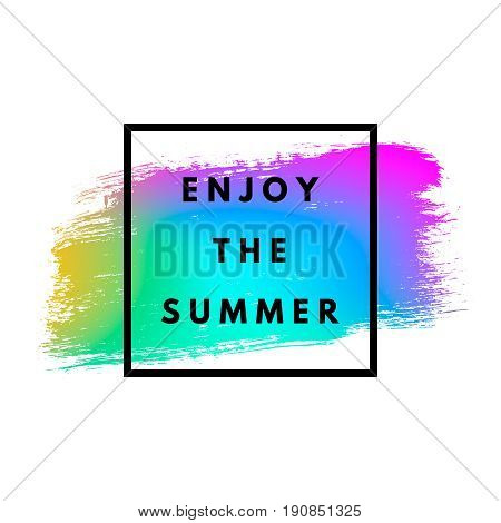 Enjoy the summer neon memphis 80x background with grunge stain texture. Minimal printable journaling card, creative card, art print, minimal label design for banner, poster, flyer.